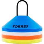 Купить Фишки для разметки поля Torres TR1006, комплект из 40 шт.: оранжевый, желтый, синий, белый