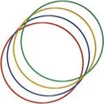 Купить Обруч стальной гимнастический Torres d 900 мм, стандартный, вес 800 гр., золотистый
