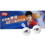 Купить Мяч для настольного тенниса DHS CF40B (10шт, белый)
