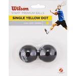 Купить Мяч для сквоша Wilson Staff Yellow WRT617800