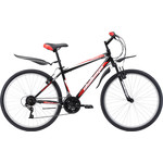 Купить Велосипед Challenger Agent 26 черно-красный 18''