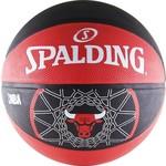 Купить Мяч баскетбольный Spalding Chicago Bulls р.7 (Резина)