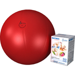 Купить Фитбол Альпина Пласт Стандарт красный, диаметр 550 мм
