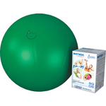 Купить Фитбол Альпина Пласт Стандарт зеленый, диаметр 550 мм