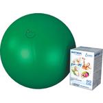 Купить Фитбол Альпина Пласт Стандарт зеленый, диаметр 750 мм