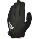 Купить Перчатки для фитнеса Adidas Essential ADGB-12422WH (с пальцами) черно/белые р. M