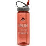 Купить Бутылка для воды Reebok RABT-P65RDRUN 0,65 Red iRun These Streets