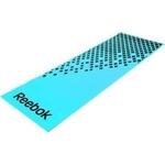 Купить Тренировочный коврик Reebok RAMT-12235BL (мат) для фитнеса мягкий (голубой-черный)