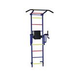 Купить Детский спортивный комплекс Крепыш плюс (02451) пристенный с брусьями - 2 ПВХ синий