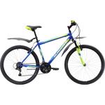 Купить Велосипед Black One Onix 26 синий- зелёный- голубой 16