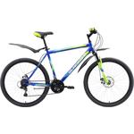 Купить Велосипед Black One Onix 26 D синий- зелёный- голубой 18