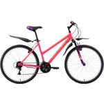 Купить Велосипед Challenger Alpina 26 розовый- жёлтый- фиолетовый 16