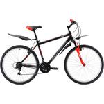 Купить Велосипед Challenger Agent 26 чёрный- красный- белый 18''