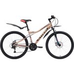 Купить Велосипед Stark 18 Slash 26.1 D бежевый- чёрный- красный 18