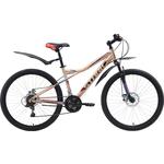 Купить Велосипед Stark 18 Slash 26.1 D бежевый- чёрный- красный 16