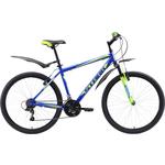 Купить Велосипед Stark 18 Respect 26.1 V синий- зелёный- голубой 20