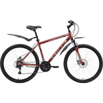 Купить Велосипед Stark 18 Respect 26.1 D тёмно-коричневый- бежевый- чёрный 20
