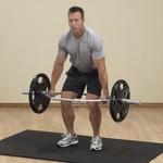 Купить Гриф олимпийский Body Solid для становой тяги (широкий параллельный хват) OTB50
