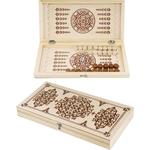 Купить Нарды дорожные деревянные C-10 (29х29 см)