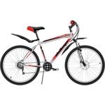 Купить Велосипед Challenger Agent 26 D серебристо-красный 18''