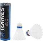 Купить Воланы Torres для бадминтона 250 (нейлон/пробка) BD-109 6шт. средняя скорость