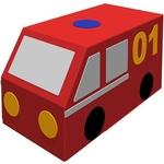 Купить Romana Фургон Пожарная машина ДМФ-МК-01.23.02