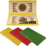 Купить Нарды малые цветные С-8 20х40х3,5 см