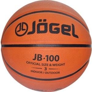 Мяч баскетбольный JOGEL JB-100 р.3 отзывы покупателей специалистов владельцев  - купить со скидкой