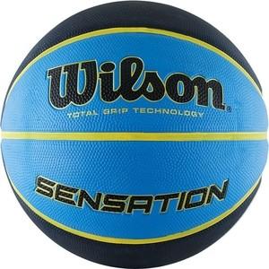 Баскетбольный мяч Wilson Sensation WTB9118XB0702 р.7 отзывы покупателей специалистов владельцев  - купить со скидкой
