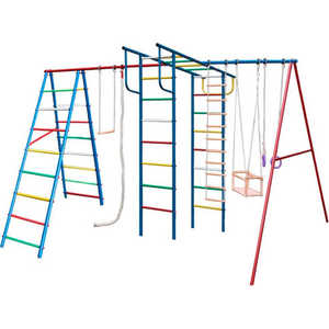 Детский спортивный комплекс Вертикаль -А+П Макси купить недорого низкая цена  - купить со скидкой