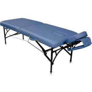Складной массажный стол Vision Fitness Apollo II Синий агат (Agate Blue)  - купить со скидкой