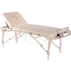 Складной массажный стол Vision Fitness Apollo Deluxe Бежевый (Beige)  - купить со скидкой