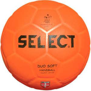 Мяч для пляжного гандбола Select Duo Soft Beach (842008-135), Senior (размер3), цвет оранжевый купить недорого низкая цена  - купить со скидкой