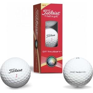 Мяч для гольфа Titleist TitleistDT TruSoft (белый, 3 шт.)технические характеристики фото габариты размеры  - купить со скидкой