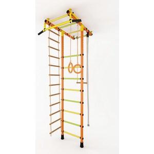 Детский спортивный комплекс Маугли 02-03 М оранжевый купить недорого низкая цена  - купить со скидкой