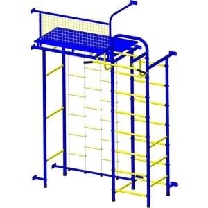 Детский спортивный комплекс Пионер 10Л сине/жёлтый  - купить со скидкой
