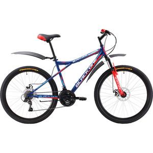 Велосипед Black One Element 26 D сине-красный 18  - купить со скидкой