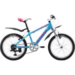 Велосипед Stark Bliss 20.1 V сине-розовый  - купить со скидкой