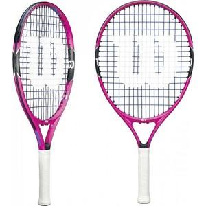 Ракетка для большого тенниса Wilson Burn Pink 21 GR00000 купить недорого низкая цена  - купить со скидкой