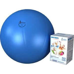 Фитбол Альпина Пласт Стандарт голубой, диаметр 450 мм купить недорого низкая цена  - купить со скидкой