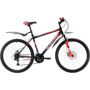 Велосипед Black One Onix 26 D чёрный- красный- белый 18  - купить со скидкой