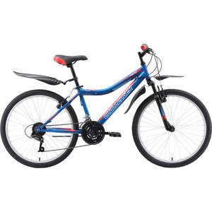 Велосипед Challenger Cosmic 24 синий- красный- чёрный  - купить со скидкой