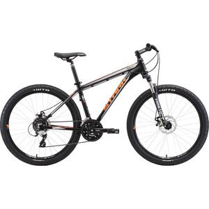 Велосипед Stark 18 Tactic 26.4 D чёрный- оранжевый- серый 18  - купить со скидкой