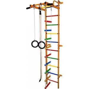 Детский спортивный комплекс Формула здоровья Карапуз-5А Плюс оранжевый/радуга купить недорого низкая цена  - купить со скидкой