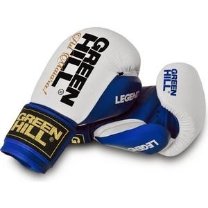 Перчатки боксерские GREEN HILL LEGEND BGL-2246-14-BL купить недорого низкая цена  - купить со скидкой