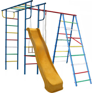 Детский спортивный комплекс Вертикаль (А+П) дачный с горкой 3,0 м купить недорого низкая цена  - купить со скидкой