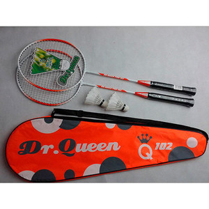 Набор для бадминтона HS-102 (2 ракетки 2 волана чехол)  - купить со скидкой