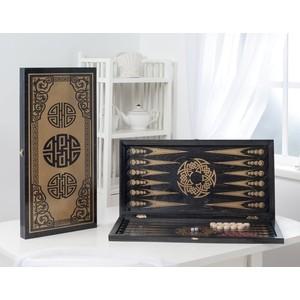Нарды ОФИ большие черные Китайский орнамент 151-17  - купить со скидкой