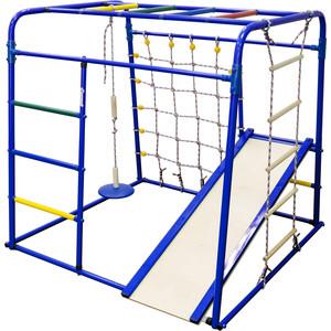 Детский спортивный комплекс Формула здоровья Start baby 1 Плюс синий-радуга купить недорого низкая цена  - купить со скидкой