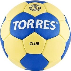Мяч гандбольный Torres Club H30043 р.3 отзывы покупателей специалистов владельцев  - купить со скидкой